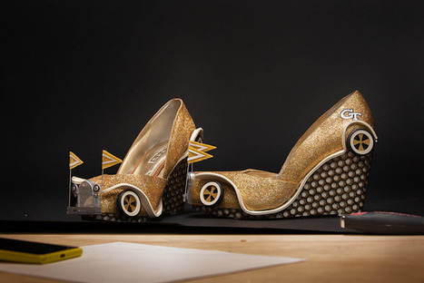 2014 Miss America Parade to Feature First Ever 3D Printed Shoes, Thanks to Maggie Bridges and Georgia Tech | 3D and 4D PRINTING | Scoop.it