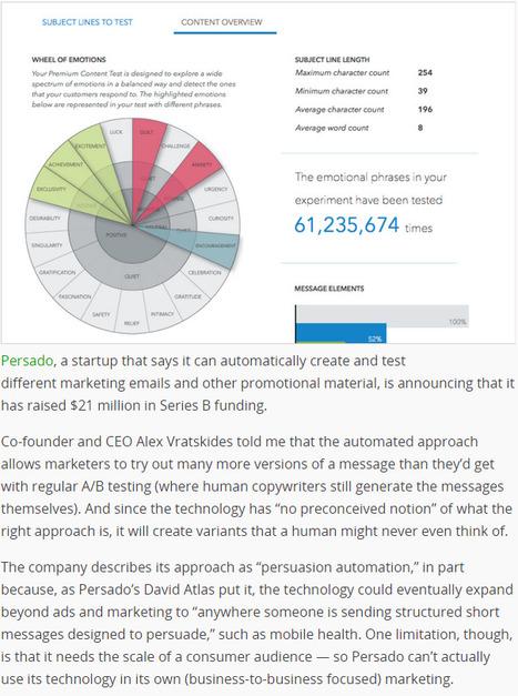 Automated Copywriting Startup Persado Raises&nb