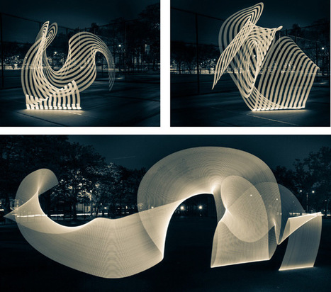 @ThePixelStick Gives Light Painting a (Much Needed) Makeover | #Design | Scoop.it
