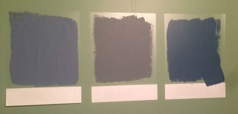 Why You HAVE to Test Colors Before Painting a Whole Room—and the New ... - Glamour (blog)   Web Design and Related   Scoop.it
