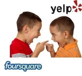 Yelp Versus Foursquare? Who's Winning In Mobile/Local For Marketers? | Les Enjeux du Web Marketing | Scoop.it