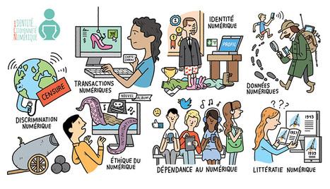 Enseigner avec le numérique : Identité et citoyenneté numérique - Eduscol | Usages numériques et Histoire Géographie | Scoop.it