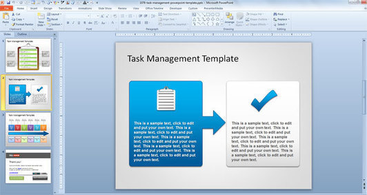 gis powerpoint templates - free task management powerpoint template free