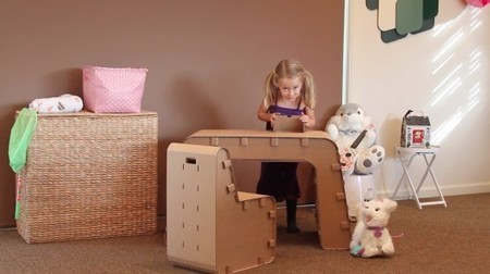 Kids Imagination Furniture lets children build their own cardboard desk and chair | Céka décore | Scoop.it