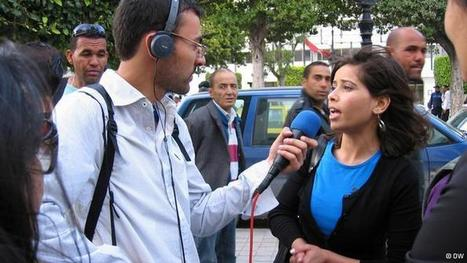 DW trains Tunisian journalists | International Broadcasting | Scoop.it