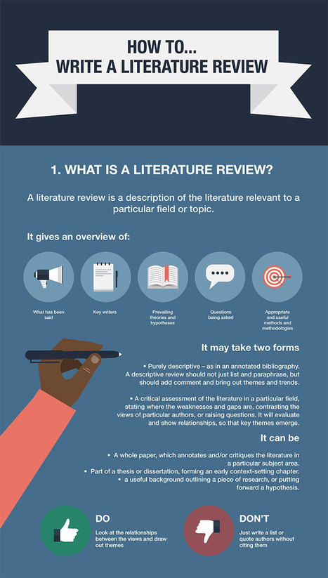 How to... write a literature review Part: 1 | Strategy & Quality in Higher Education | Scoop.it