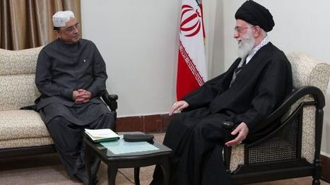 Zionists sow discord among Muslims:  Khamenei to #Pakistan President | From Tahrir Square | Scoop.it