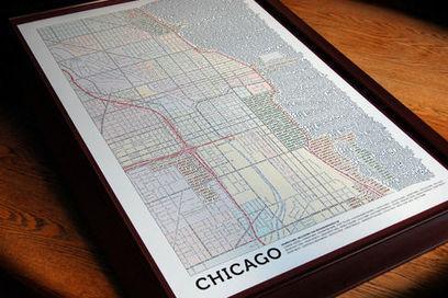 Actualité / Axis Maps combine cartographie et typographie / étapes: design & culture visuelle | Information visualization | Scoop.it
