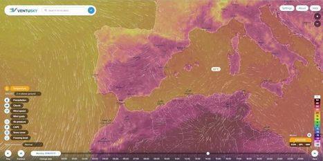 Dos webs de mapas meteorológicos interactivos | GEOGRAFIA SOCIAL | Scoop.it