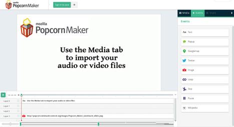 Popcorn Maker – Ένα εργαλείο δημιουργίας διαδραστικών βίντεο | omnia mea mecum fero | Scoop.it