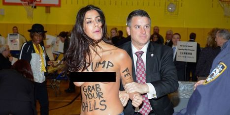Two Topless Protesters Were Arrested at Donald Trump's Polling Station (NSFW) | LibertyE Global Renaissance | Scoop.it