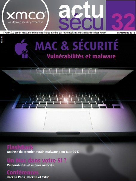 Sécurité Mac : XMCO actu-secu [pdf] | Apple, Mac, MacOS, iOS4, iPad, iPhone and (in)security... | Scoop.it
