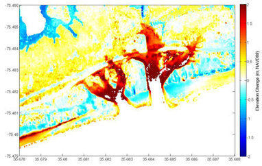 Pre- and Post-Storm 3D Lidar Topography - Hurricane Stormname - Coastal Change Hazards: Hurricanes and Extreme Storms | Geotechnobabble | Scoop.it