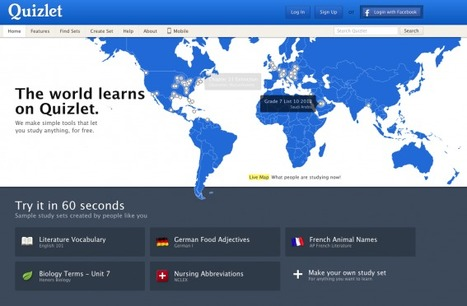 Quizlet in Education | 21st Century Tools for Teaching-People and Learners | Scoop.it