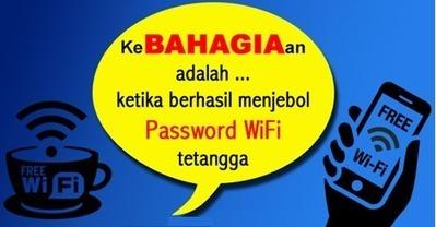 Cara Mengetahui Password Wifi Orang Lain Iapk