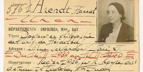 La BNF retrouve les cartes de lecteur d'André Breton, Aimé Césaire ou Hannah Arendt | Théo, Zoé, Léo et les autres... | Scoop.it
