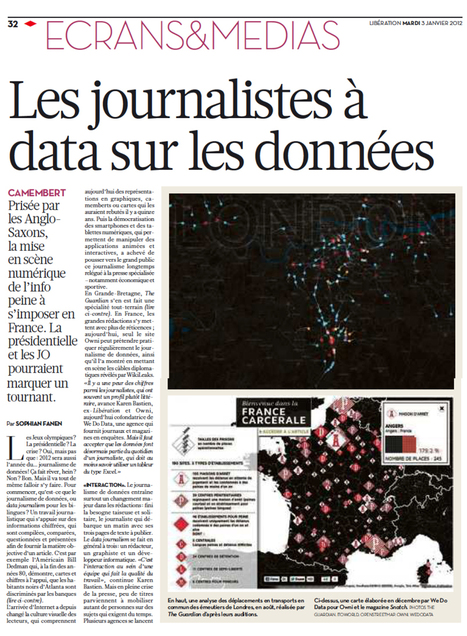 Les journalistes à data sur les données | Libération | All about Data visualization | Scoop.it