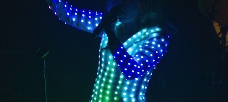 Check Out Little Boots' Cyber Cinderella LED Dress - Noisey (blog) | CyberDada | Scoop.it