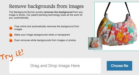 Background Burner - Instantly Remove Backgrounds from Images and Photos | Digital Learning, Technology, Education | Scoop.it