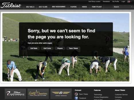 The Best 404 Error Pages Of All Time | License to Tech | Scoop.it