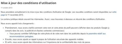 Google lance les recommandations partagées qui intègrent votre profil aux publicités | Institut de l'Inbound Marketing | Scoop.it