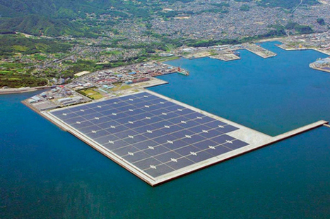 Japan is planning to build huge floating solar power plants (Science Alert) | The Blog's Revue by OlivierSC | Scoop.it