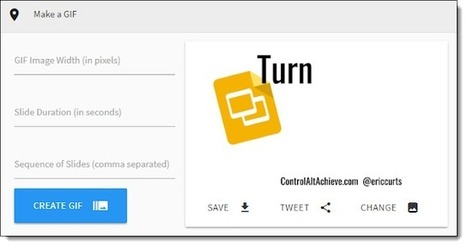 Turn Google Slides Into An Animated Gif With Th