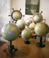 Fabrication des globes terrestres anciens | GenealoNet | Scoop.it
