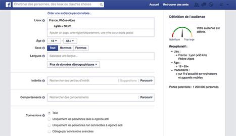 Publicité Facebook : tutoriel en 8 étapes pour se lancer et maximiser sa performance | e-REPUTATION par Linexio | Scoop.it