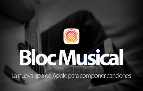 Bloc Musical, nueva app para componer canciones con iPhone | iPad classroom | Scoop.it