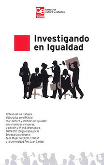 """Disponible digitalmente el libro """"Investigando en Igualdad""""   #hombresporlaigualdad   Scoop.it"""
