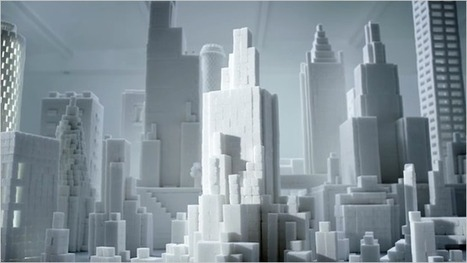 Brita Built a City out of Sugar Cubes to Show You What a Lifetime of Soda Looks Like | Scott's Linkorama | Scoop.it