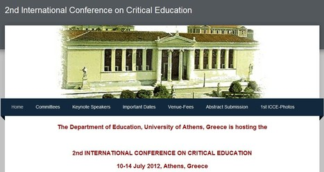 2nd International Conference on Critical Education | Wiki_Universe | Scoop.it