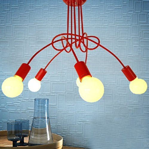 Inexpensive Red Chandelier: Red Chandeliers Deals To Home Decorating Purpos