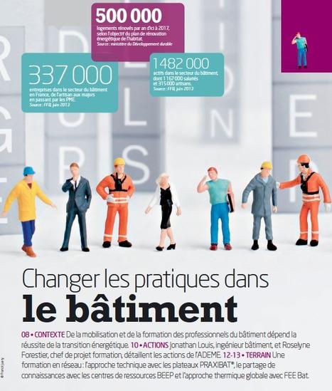 Changer les pratiques dans le bâtiment, le dispositif d'information de l'ADEME | D'Dline 2020, vecteur du bâtiment durable | Scoop.it
