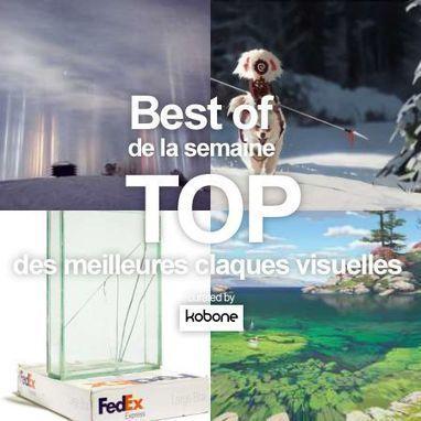 Veille creative : Les 20 visuels les plus inspirants de la semaine 2017-01-15 | Web Increase | Scoop.it