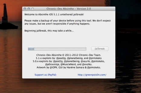 How to jailbreak iOS 5.1.1 on your iPhone 4S, new iPad, and more with Greenpois0n Absinthe | iPhone Tips and Tricks | Scoop.it