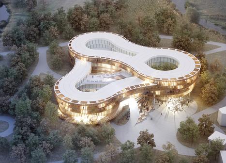 graft and penda team up to present the myrtle garden hotel - designboom | architecture & design magazine | Architecture and Design | Scoop.it