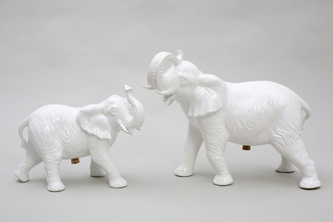 The Cool Hunter - White Animal Life Tableware   More Than Just A Supermarket   Scoop.it