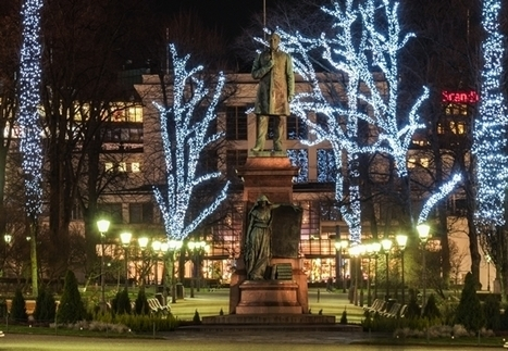 Christmas lights up the Helsinki night - thisisFINLAND | Finland | Scoop.it