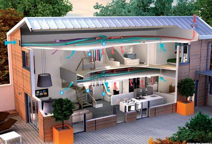 Rafraîchir, ventiler et chauffer avec un seul système | Réhabilitations, Rénovations, Extensions & Ré-utilisations...! | Scoop.it