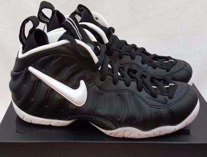 8011e726718 Nike Air Foamposite Pro Dr. Doom Black White 624041-006 Size 7 Penny royal