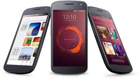 Ubuntu se tourne vers les smartphones | Ubuntu French Press Review | Scoop.it