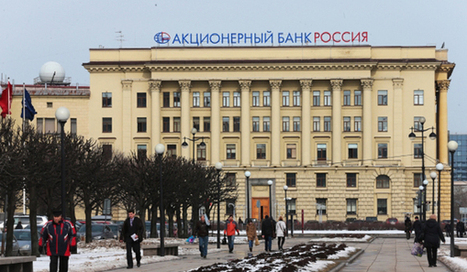 """Putin opens account with Rossiya Bank 