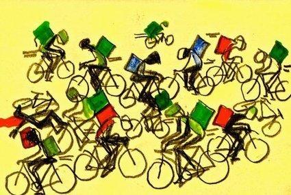 Un jour dans la vie d'un livreur à vélo | Là-bas si j'y suis | Revue de web de Mon Cher Vélo | Scoop.it