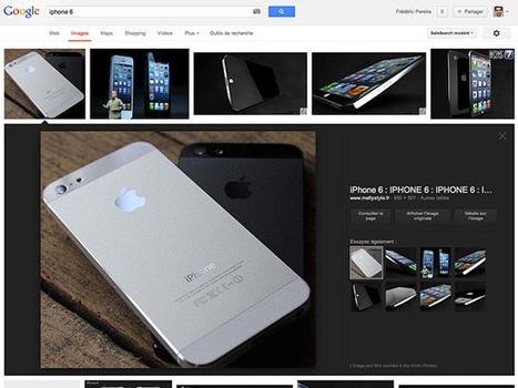 Google : la nouvelle recherche d'images est disponible en France | Recherche et partage sur internet | Scoop.it