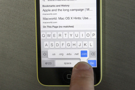 Secrets of the iOS 7 keyboard | Macworld | iPad and Apps | Scoop.it