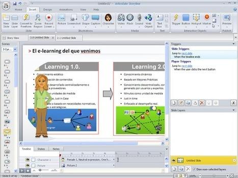 Articulate Storyline desarrollo rápido y sencillo de contenidos e-learning Blog Jorge Dieguez | e-Learning, Colaboración y Tecnología | Utilidades TIC e-learning | Scoop.it