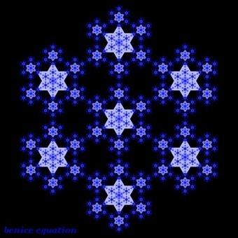 Fractal Star - Star fractal using GeoGebra | Matemáticas curiosas. Curiosidades matemáticas. | Scoop.it