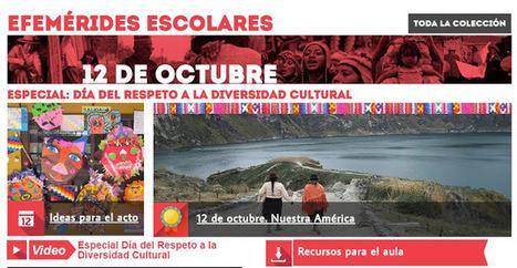 12 de octubre. Día del Respeto a la Diversidad Cultural (ex Día de la Raza) Especial Educ.ar | RECURSOS PARA EDUCACIÓN Y BIBLIOTECAS | Scoop.it